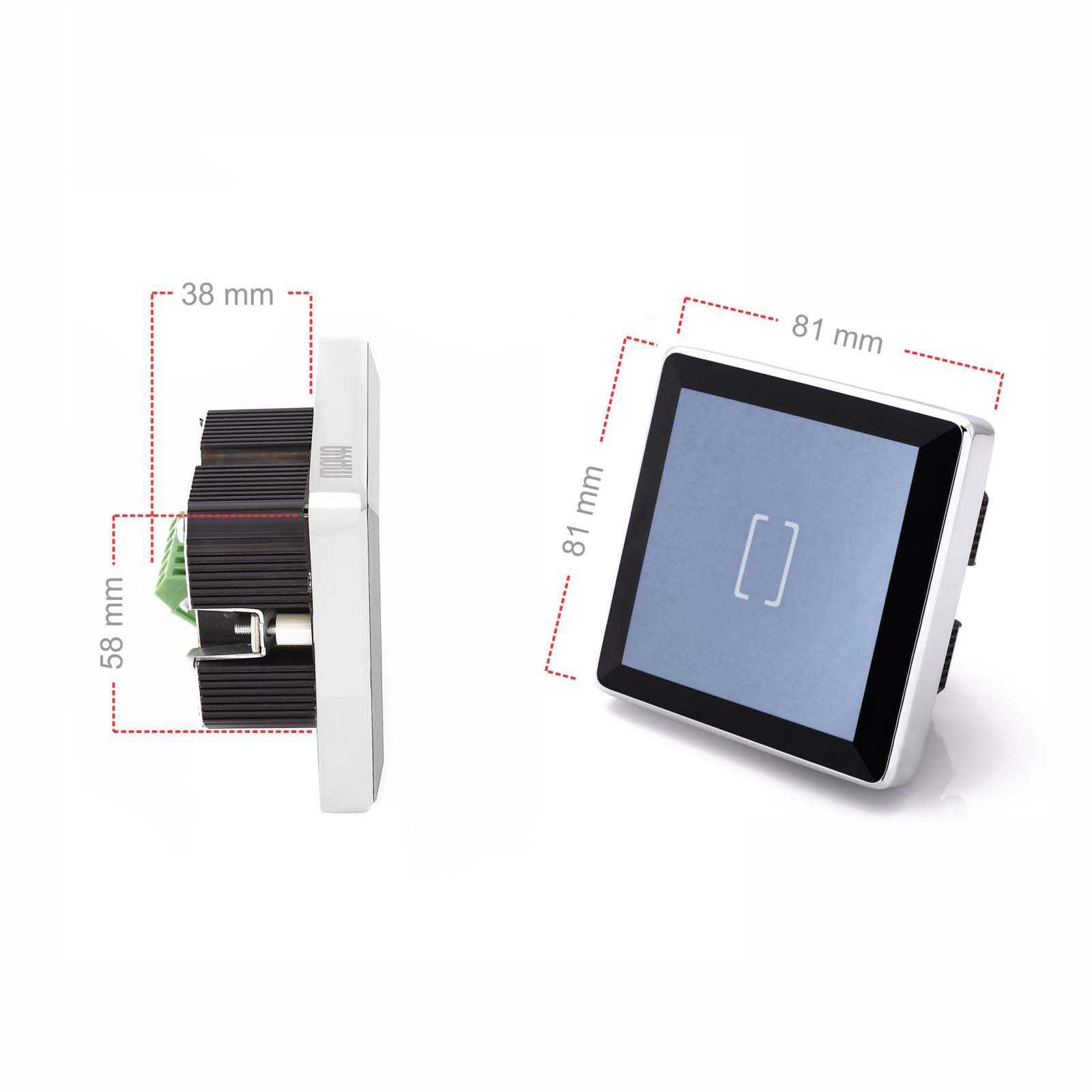 کلید لمسی تک پل هوشمند مایا مدل MR1ES11